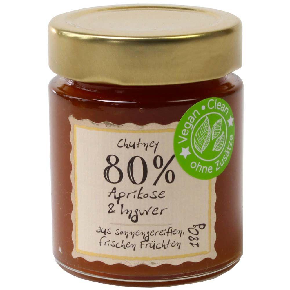 Deligreece Aprikosen Ingwer Chutney 80% Fruchtgehalt -  - Chocolats-De-Luxe