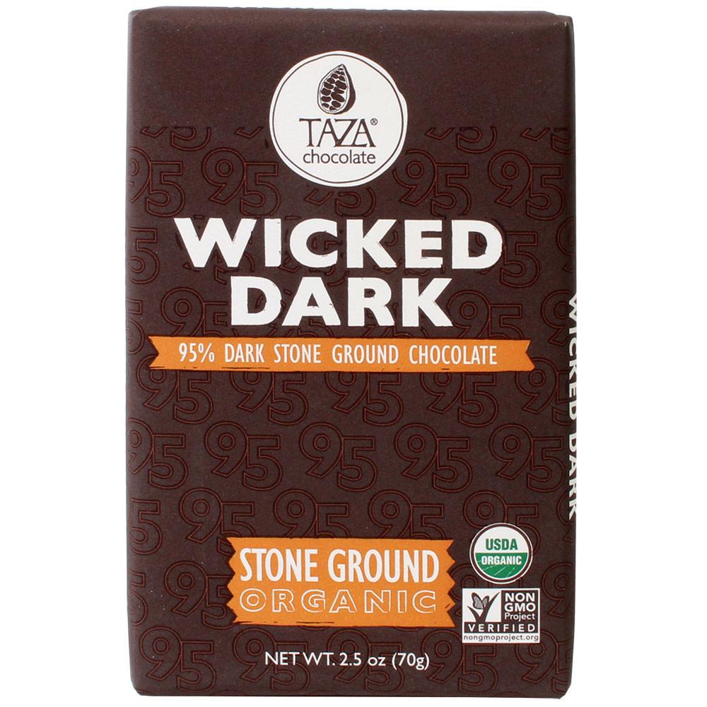 Taza, stone ground chocolate, unconchierte Schokolade, - Tavola di cioccolato, cioccolato senza OGM, cioccolato senza soia, senza glutine, Stati Uniti d'America, cioccolato americano, us cioccolato, Cioccolato con zucchero - Chocolats-De-Luxe