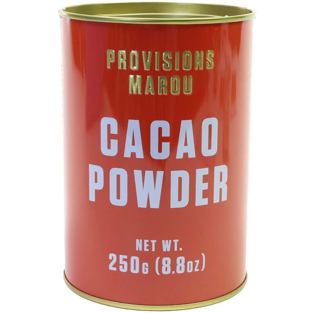 100% Cacao Powder in der Dose