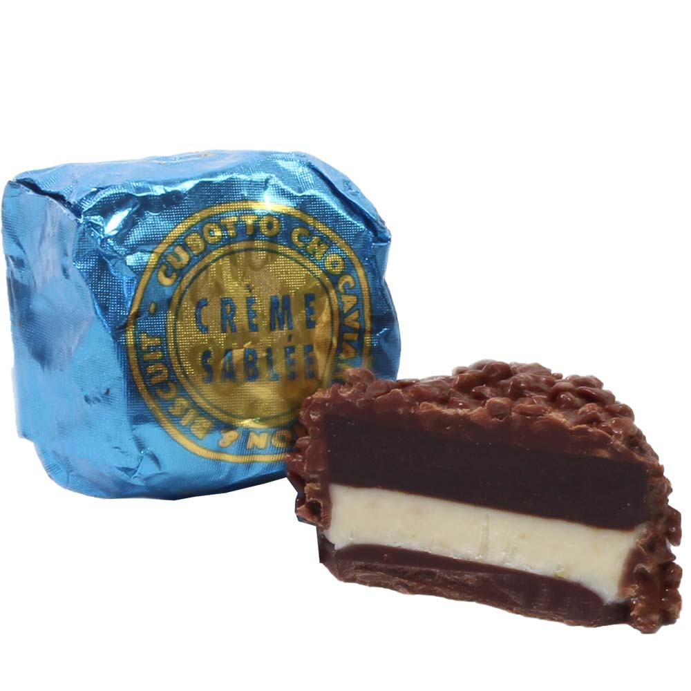Crema de Mantequilla Cubotto Chocaviar - Bombones, SweetFingerfood, Chocolate sin alcohol, chocolate sin gluten, Italia, chocolate italiano, Chocolate con jengibre - Chocolats-De-Luxe