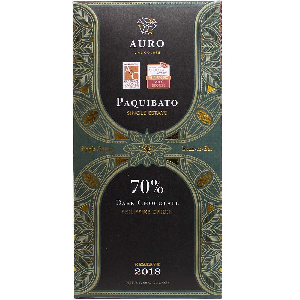 70% Paquibato Single Estate Zartbitterschokolade - $seoKeywords- Chocolats-De-Luxe