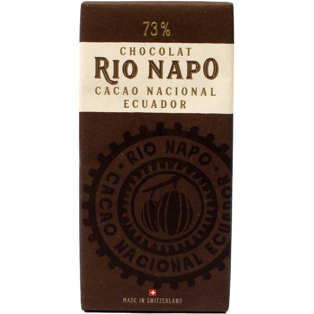 Grand Cru Waldschokolade 73% Zartbitterschokolade - Tavola di cioccolato, Svizzera, Cioccolato svizzero, Cioccolato con zucchero - Chocolats-De-Luxe