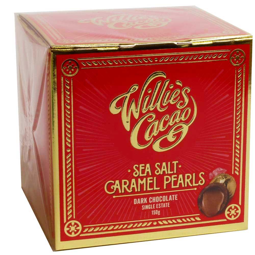 Sea Salt Caramel Pearls - Perlas de caramelo salado marina en chocolate negro - Bombones, Inglaterra, chocolate inglés, Chocolate con caramelo - Chocolats-De-Luxe