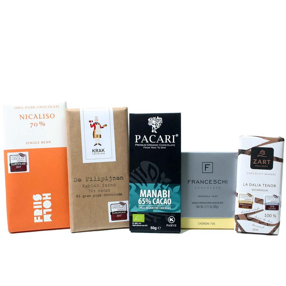Scatola vincente di cioccolato fondente -  - Chocolats-De-Luxe