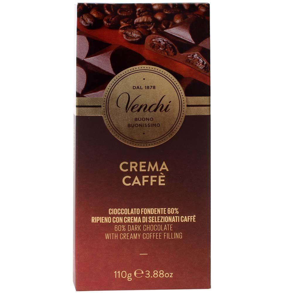 Crema Caffé Table chocolate milk 60% - Bar of Chocolate, gluten free chocolate, Italy, italian chocolate, Chocolate with coffee - Chocolats-De-Luxe