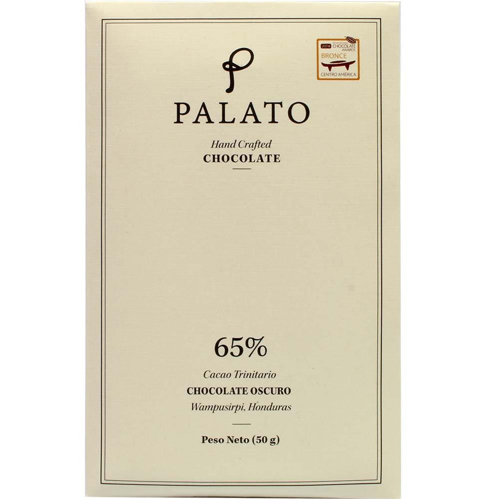 Chocolat Oscuro Cacao 65% chocolat noir - Tablette de chocolat, convient aux végétariens, végan-amicale, Honduras, chocolat hondurien - Chocolats-De-Luxe