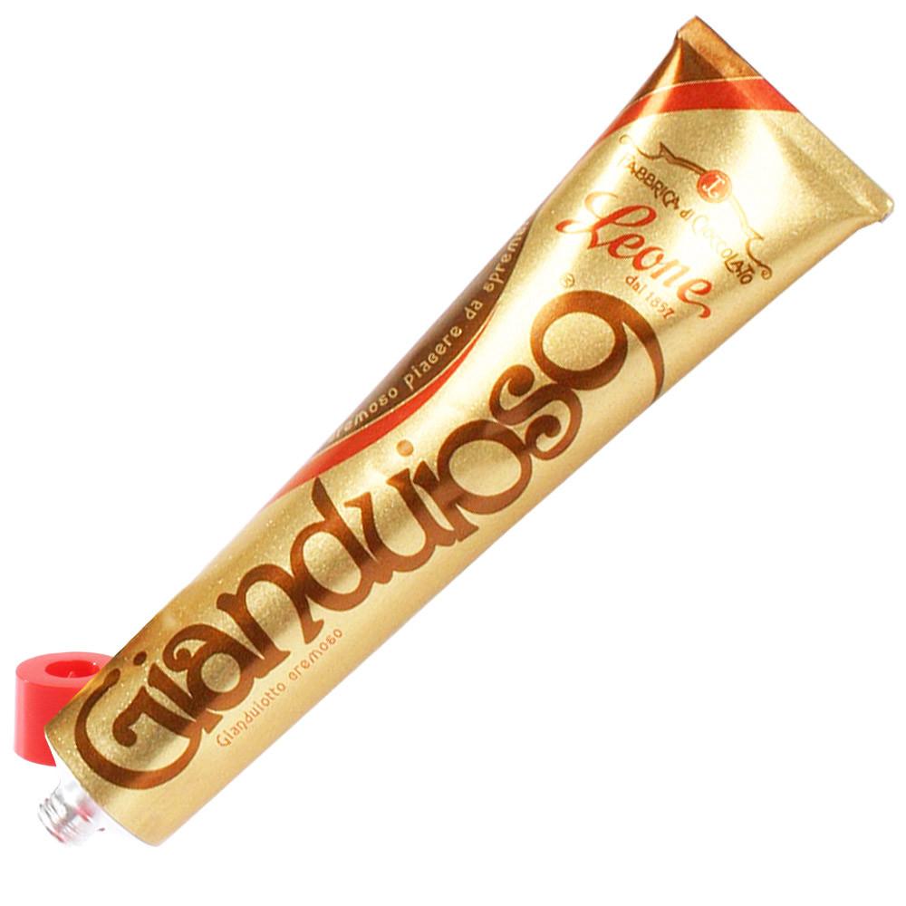 Leone Italien Pastiglie di Cioccolato Haselnusscreme Nougat Nugat                                                                                                                                        - Schokoladen-Streichcreme, Brotaufstriche, Italien, italienische Schokolade - Chocolats-De-Luxe