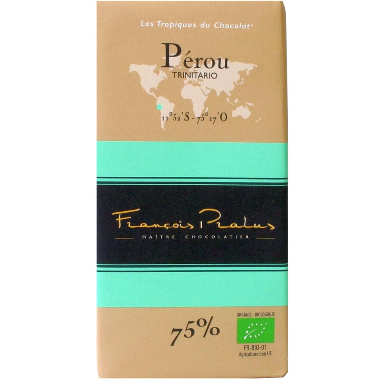 Pralus, Frankreich, dunkle Schokolade, Brasilien, Forastero, dark chocolate, chocolat noir