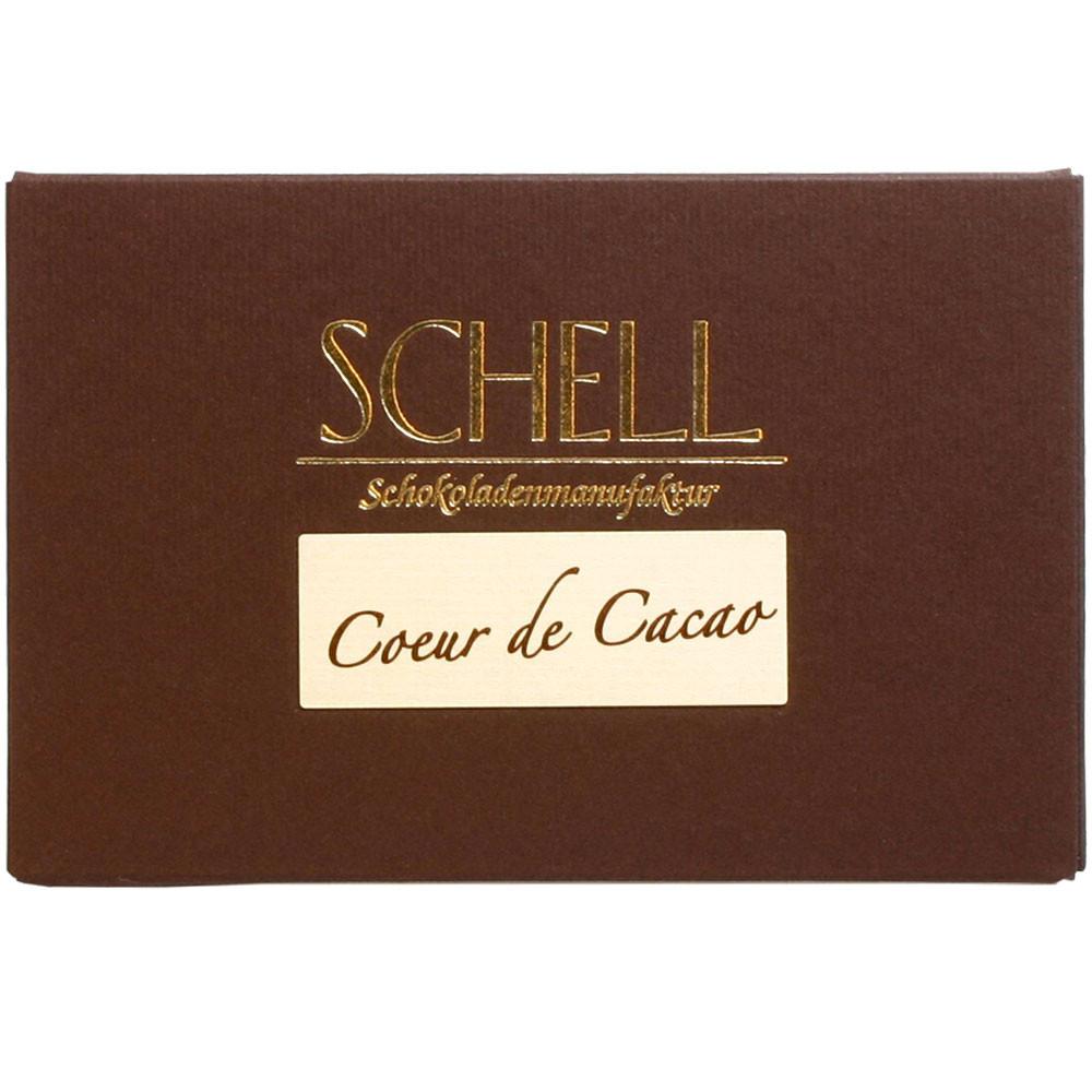 Schell Schokoladenmanufaktur Gundelsheim Schokolade zu Wein dark chocolate cocoa nibs éclats de cacao chocolat noir Karibik, Zartbitterschokolade                                                        -  - Chocolats-De-Luxe