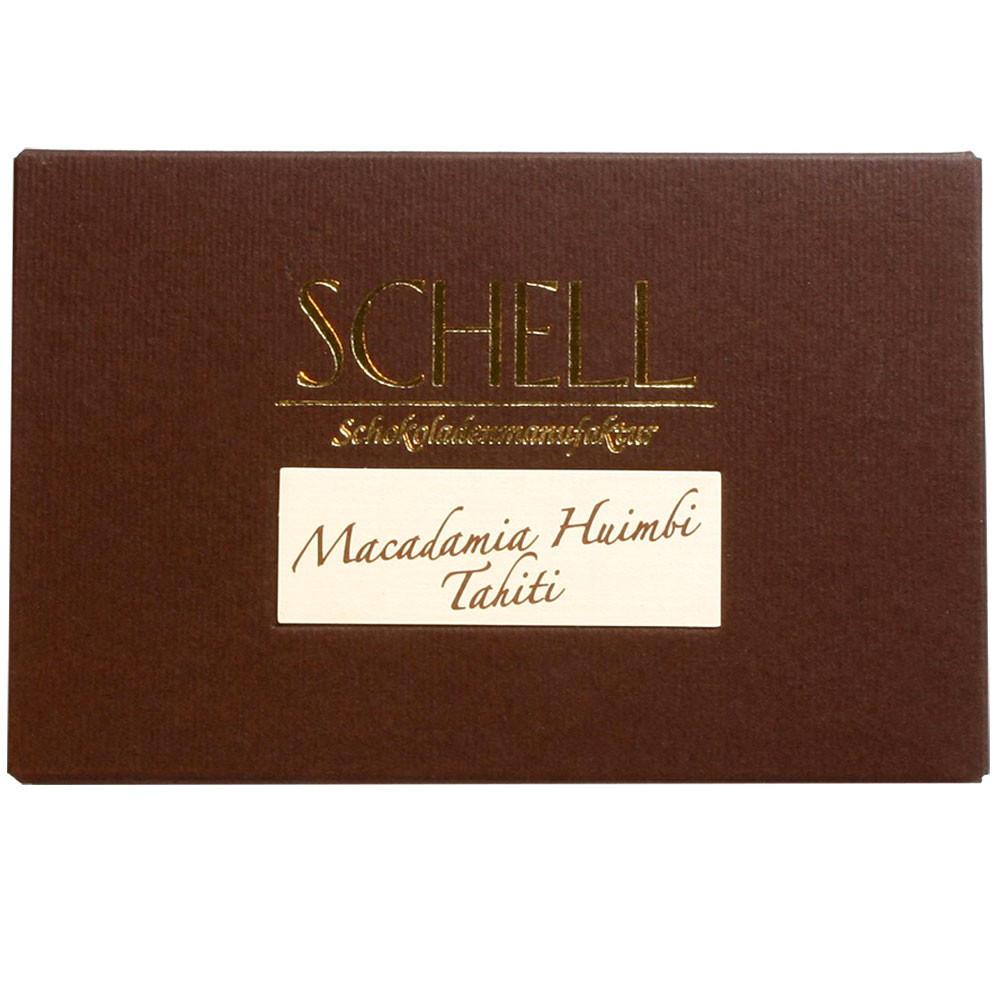 Schell Schokoladenmanufaktur Gundelsheim Schokolade zu Wein Vollmilchschokolade Rio Huimbi Tahiti
