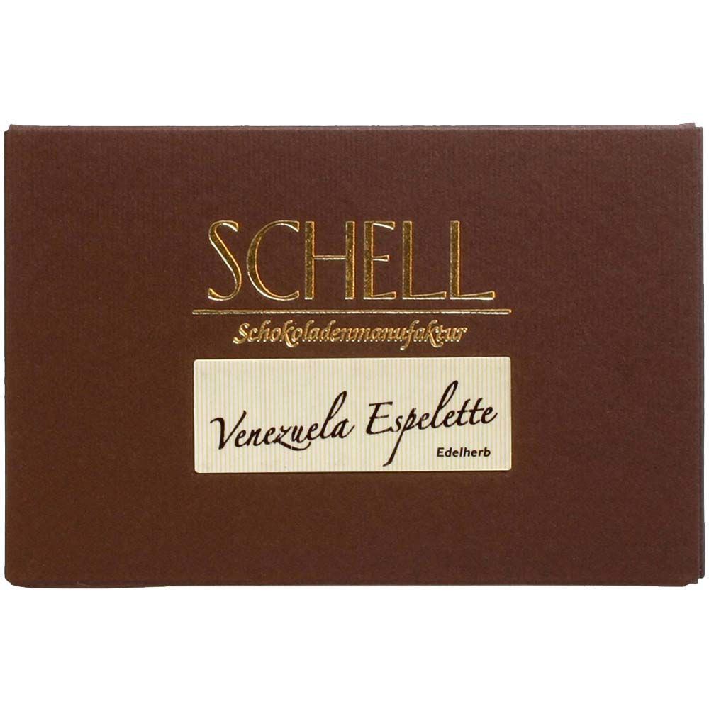 Venezuela Espelette 70% Chili Chocolate - Barras de chocolate, Alemania, chocolate alemán, Chocolate con Chile - Chocolats-De-Luxe