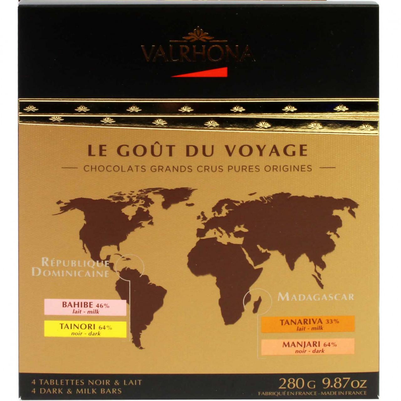 Le Goût du Voyage: viaje de chocolate por el mundo - Francia, chocolate francés - Chocolats-De-Luxe