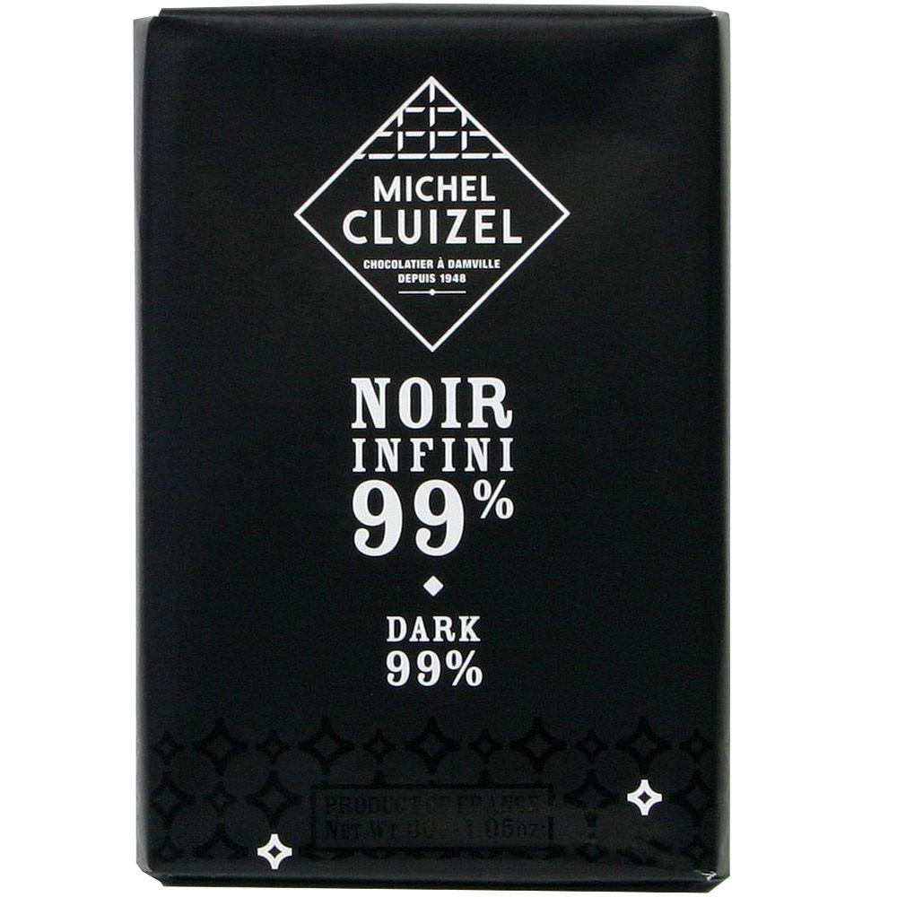 Michel Cluizel, Frankreich, Sojalecithinfrei, Bitterschokolade, 99% chocolat noir dark chocolate France - $seoKeywords- Chocolats-De-Luxe