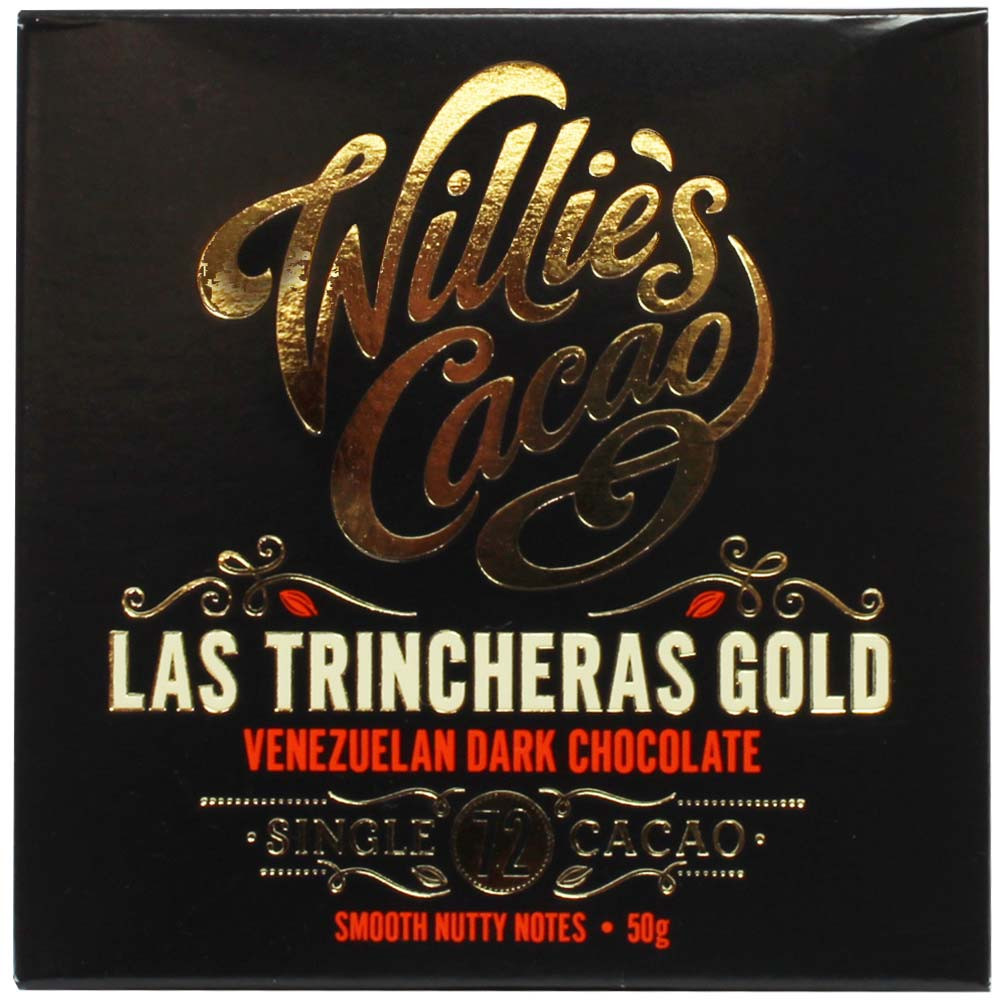 Las Trincheras Gold - Venezulan Dark Chocolate 72%