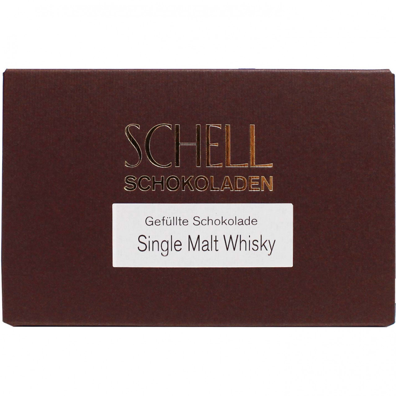 Schell Schokoladenmanufaktur Gundelsheim, filled chocolate, Whisky Trüffel, Whisky Pralinen, Laphroiagh Single Malt Whisky