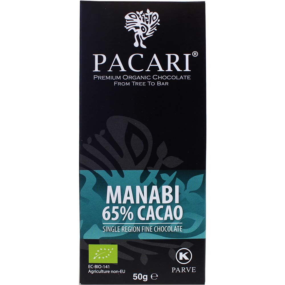 Manabi 65% Cacao aus Arriba Nacional Bohnen