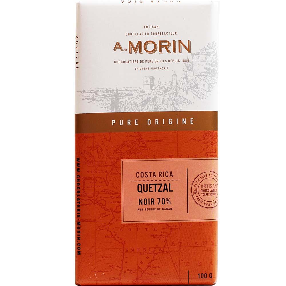 Chocolade uit Midden-Amerika in een pakket -  - Chocolats-De-Luxe