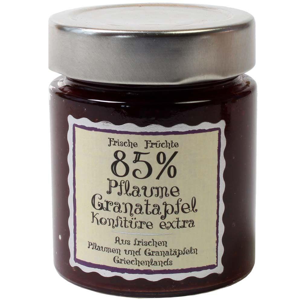 Mermelada de ciruela granada extra 85% contenido de fruta - Grecia, chocolate griego - Chocolats-De-Luxe