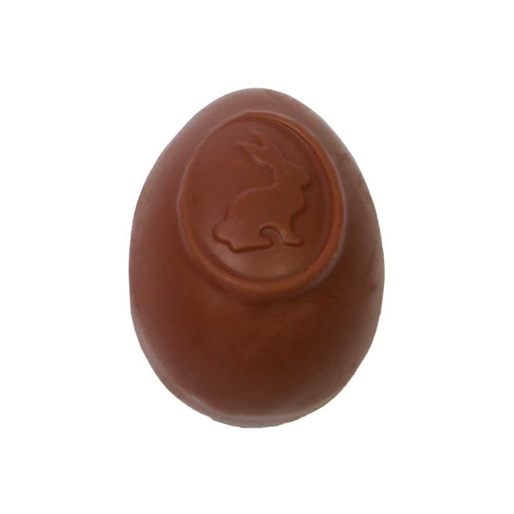 Osterei Mandel Nougat creme - Vollmilchschokolade -  - Chocolats-De-Luxe