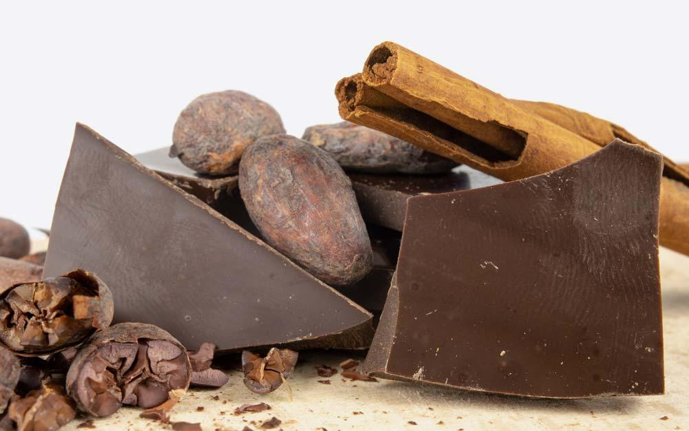 Cioccolatini scuri dei migliori cioccolatai