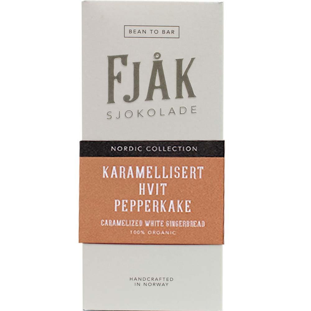 Karamellisert hvit pepperkake - weiße Schokolade mit Lebkuchen -  - Chocolats-De-Luxe