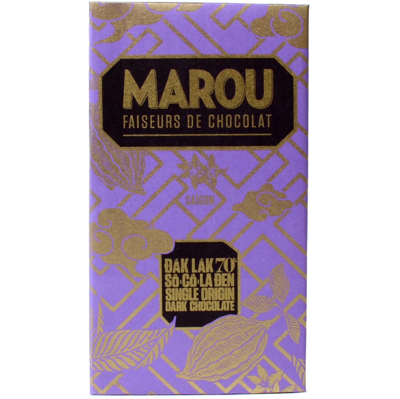 Marou, Vietnam, dunkle Schokolade, Single Origin Schokolade, sojafreie Schokolade, lezithinfreie Schokolade, glutenfreie Schokolade, milchfreie Schokolade, dark chocolate, - $seoKeywords- Chocolats-De-Luxe