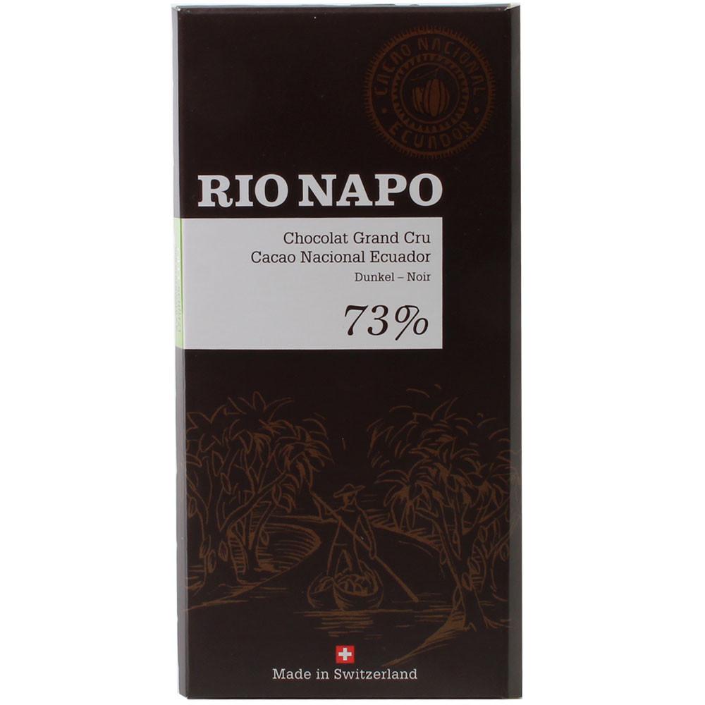 Grand Cru Waldschokolade 73% Zartbitterschokolade - Tablette de chocolat, Suisse, chocolat suisse - Chocolats-De-Luxe