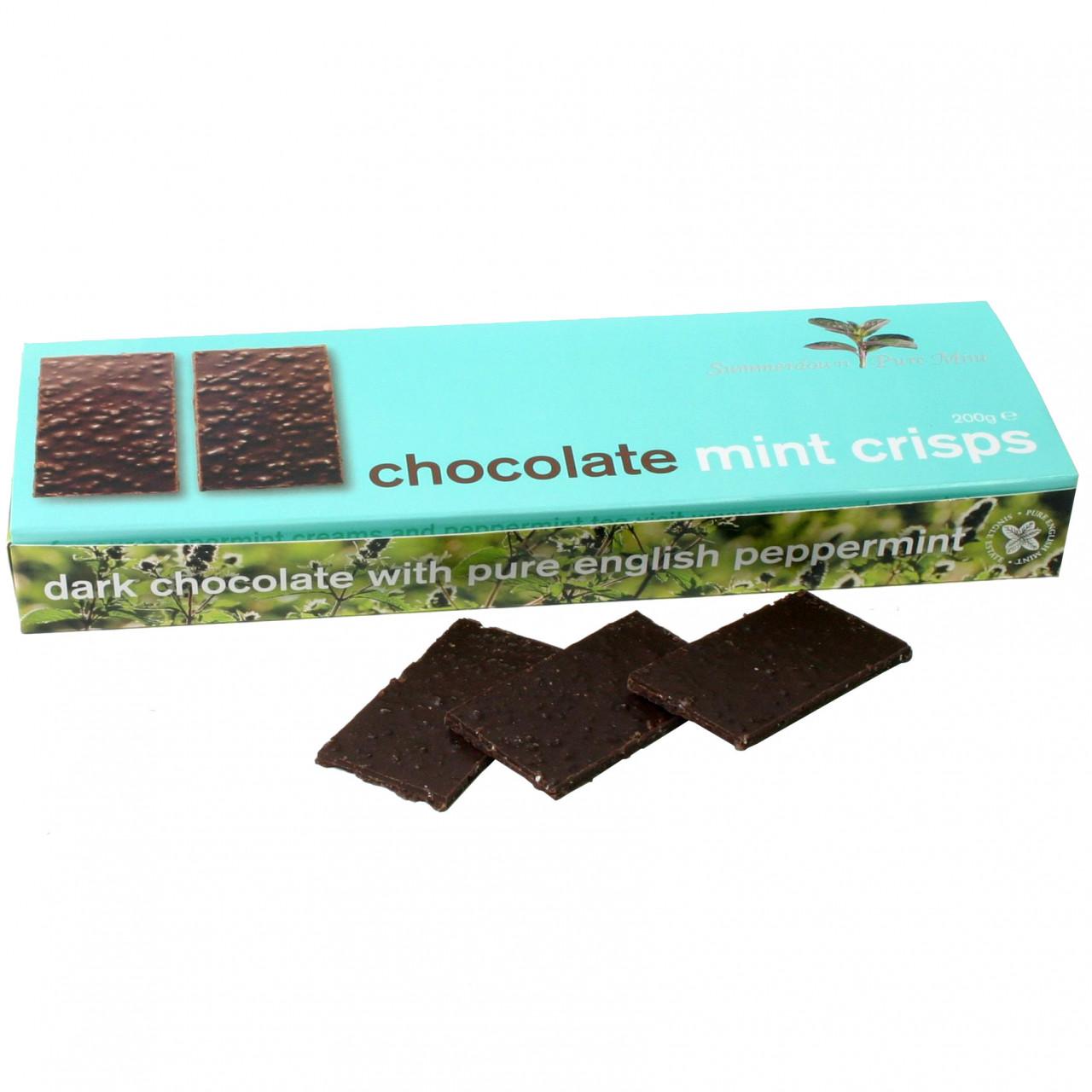 mint, menthe, Minze, dark chocolate, chocolat noir, dunkle Schokolade