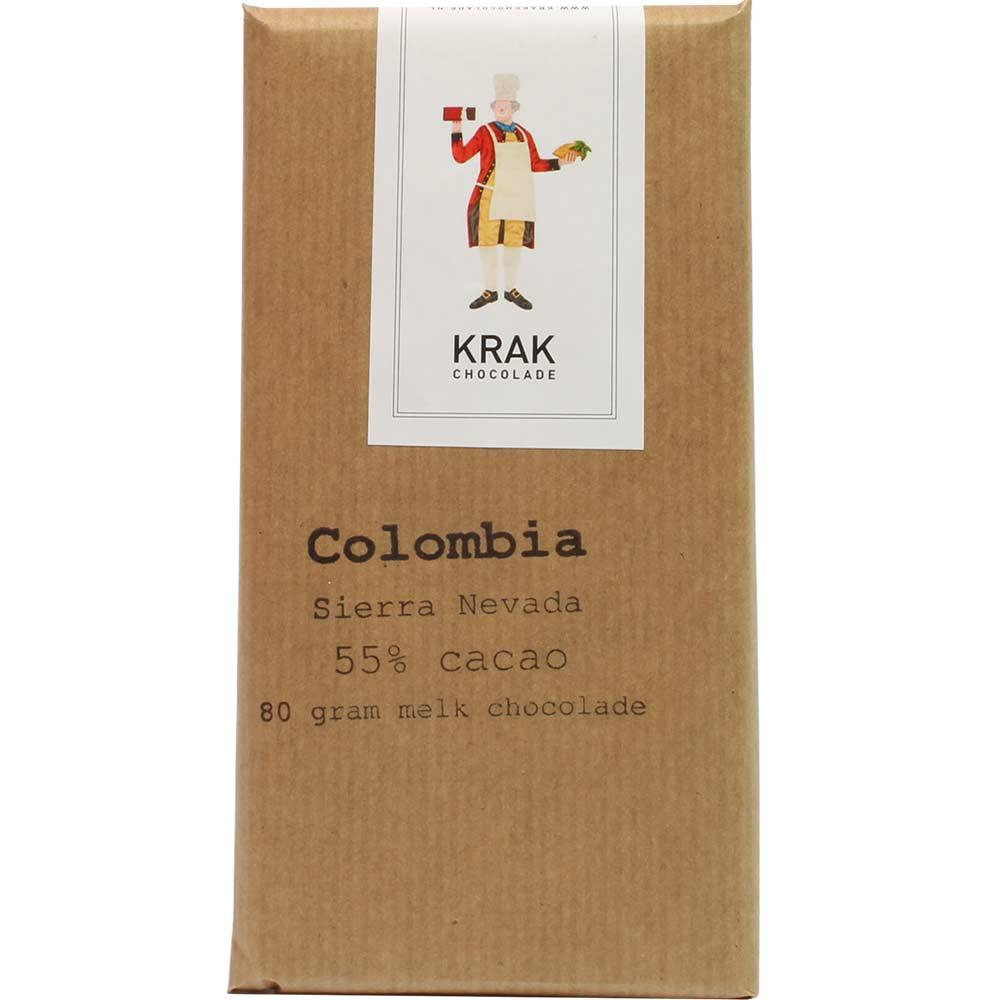 Colombia Sierra Nevada 55% Cacao Milchschokolade - $seoKeywords- Chocolats-De-Luxe