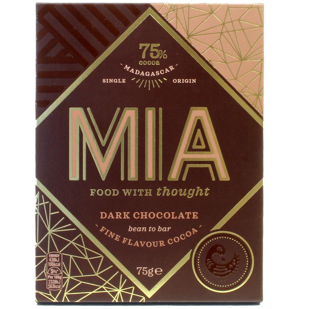 75% chocolate de origen único de Madagascar - Barras de chocolate, Madagascar, chocolate malgache, chocolate puro sin ingredientes - Chocolats-De-Luxe