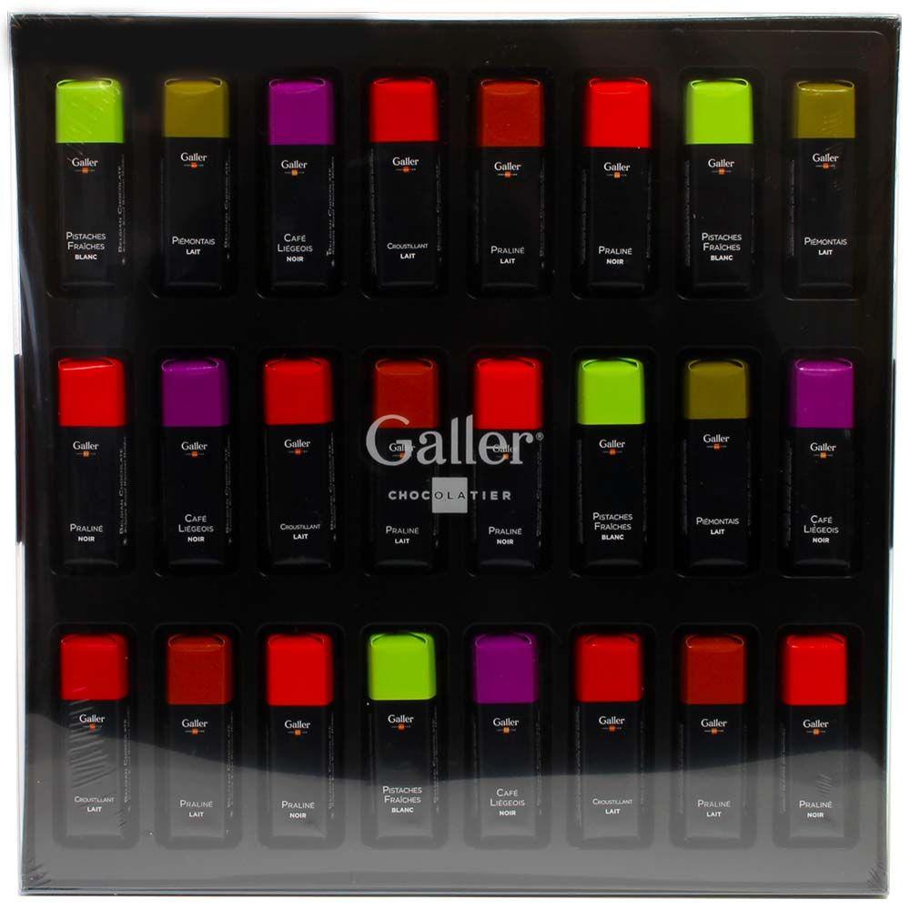 Galler buntes Riegelsortiment chocolats-de-luxe -  - Chocolats-De-Luxe