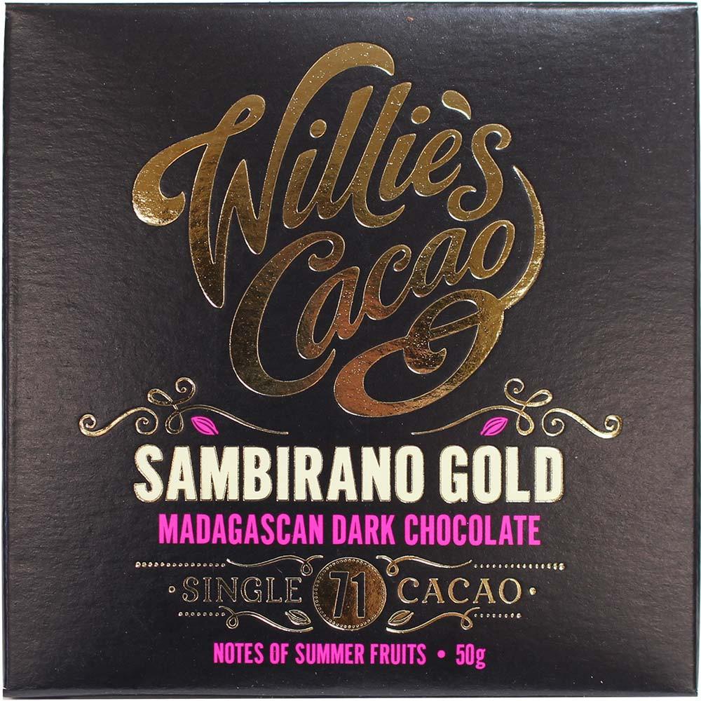 Sambirano Gold - Chocolate negro de Madagascar 71%