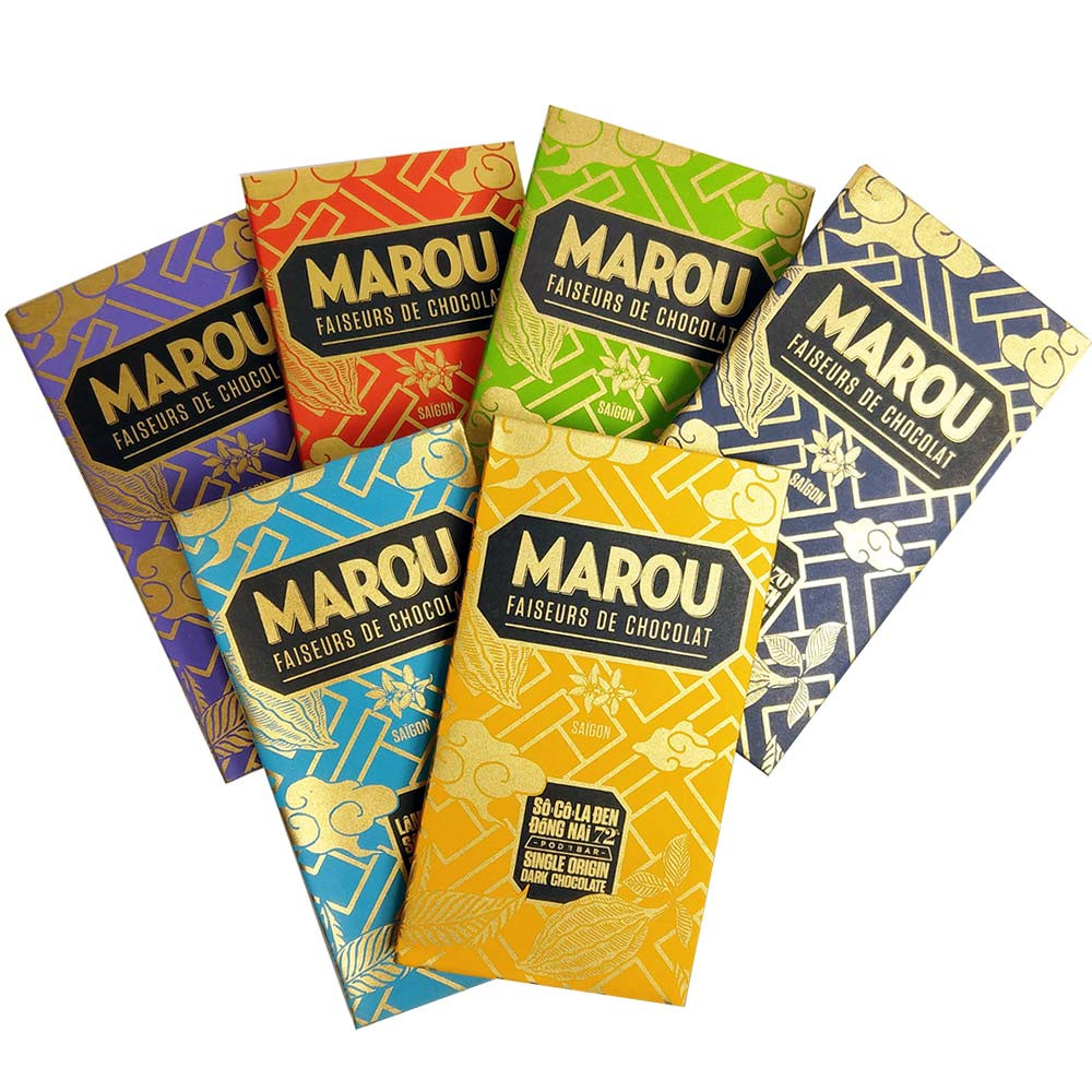 Best of Marou - Chocolates from Vietnam