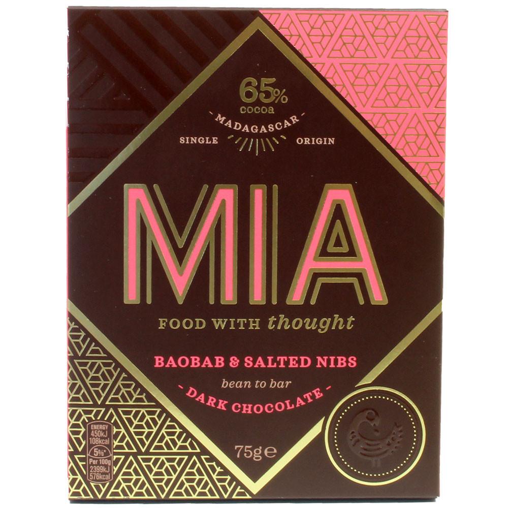 65% chocolate BaoBab y nibs salados