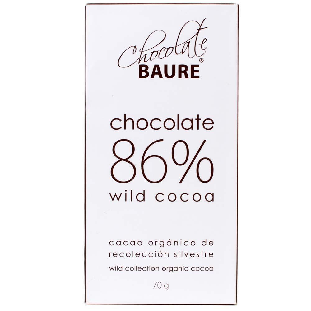 86% chocolate de cacao silvestre - Barras de chocolate, Bolivia, chocolate boliviano, Chocolate con azúcar - Chocolats-De-Luxe
