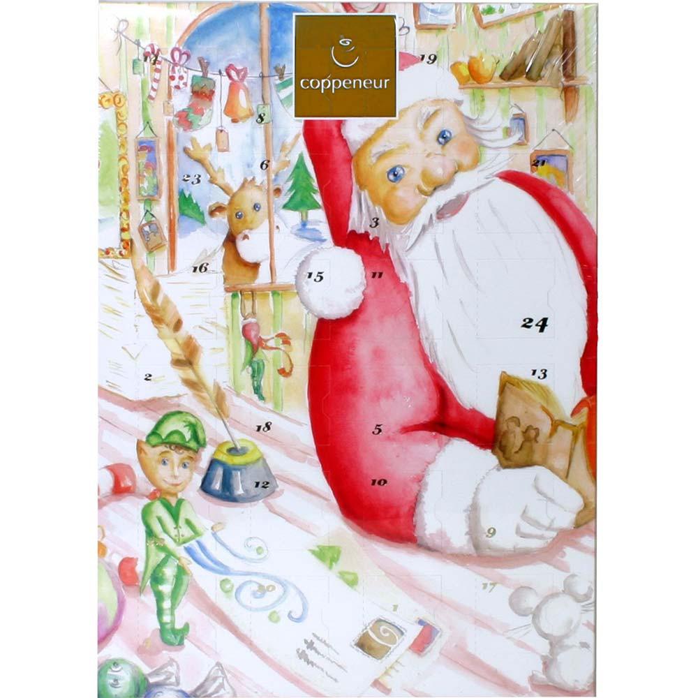 Calendrier de l'Avent Nicolas fourré aux truffes et pralines