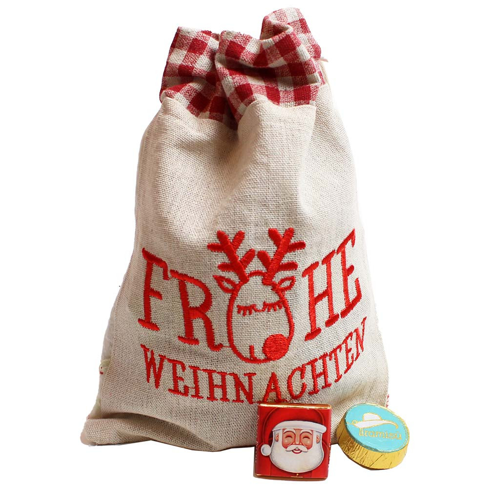 Bolsa estrella Feliz Navidad con alcohol - con el alcohol - Chocolats-De-Luxe