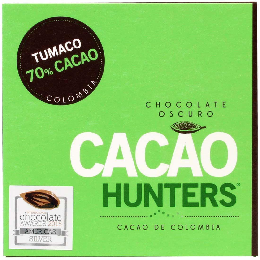 Cacao Hunters Tumaco 70% Cacao Colombia