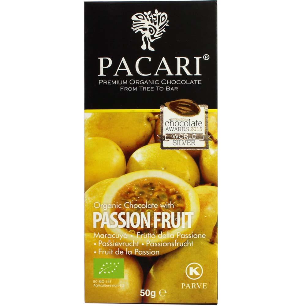 60% Bio Schokolade mit Passionsfrucht