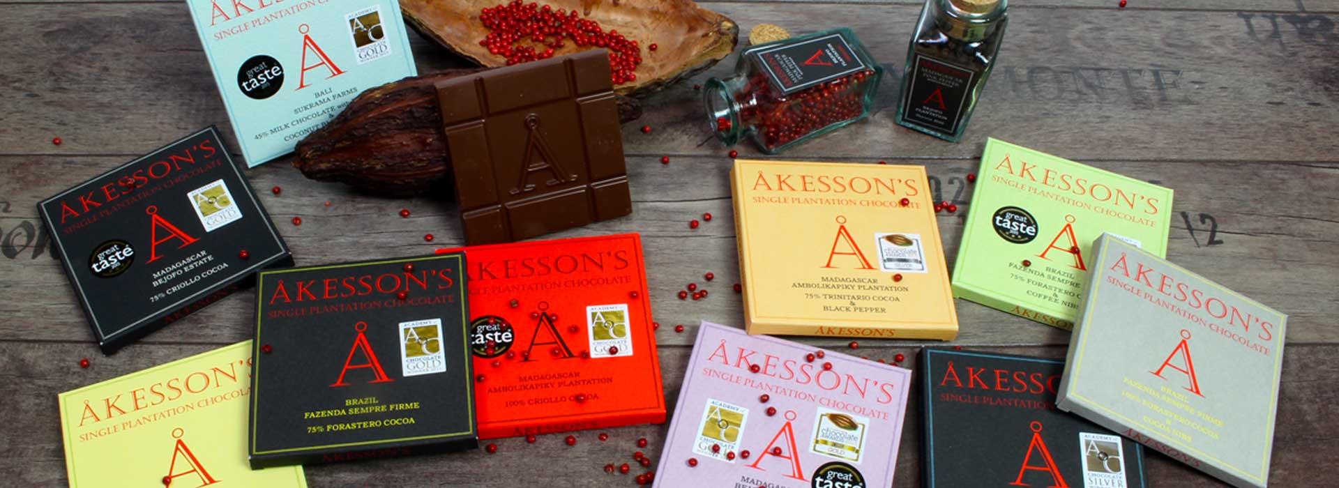 Åkesson's setzt auf Glutenfreie Schokolade