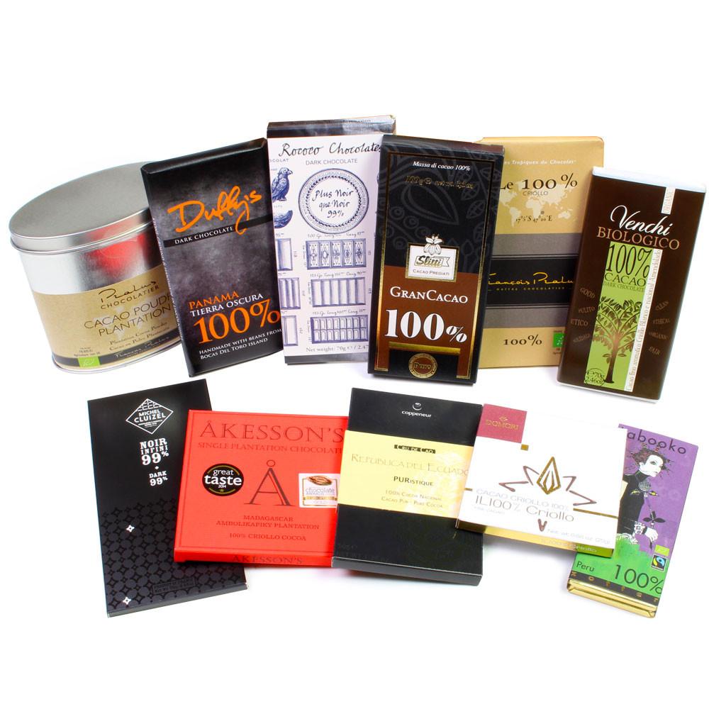 reine Kakaomasse, zuckerfrei, pure cocoa, cacao pur, ohne Zucker, dark chocolate, chocolat noir -  - Chocolats-De-Luxe