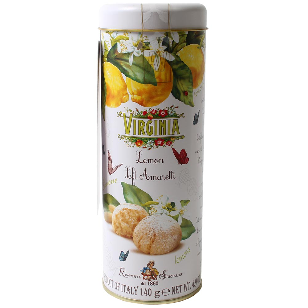 Boîte cadeau de biscuits amaretto doux au citron