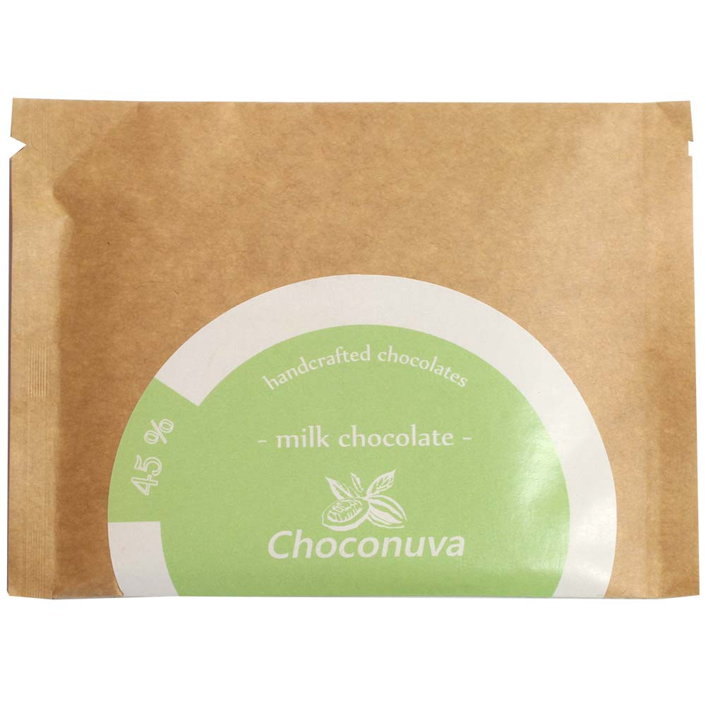 45% Milchschokolade Milk Chocolate handcrafted - Bar of Chocolate, Germany, german chocolate, chocolate with milk, milk chocolate - Chocolats-De-Luxe