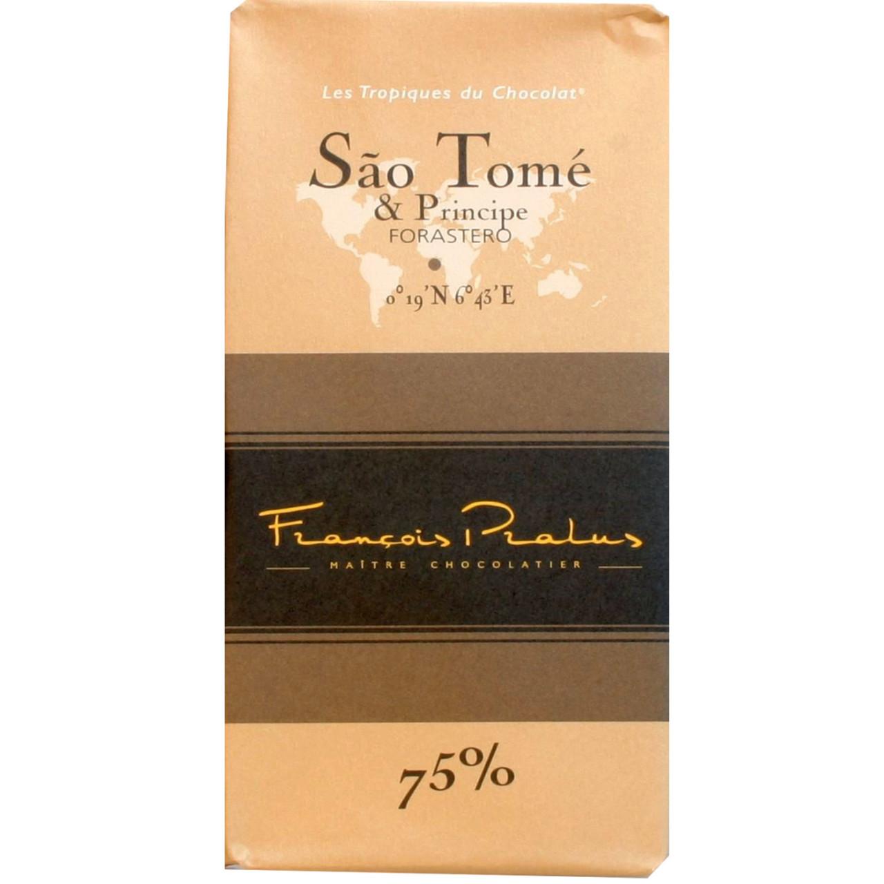 Dunkle Schokolade, 75%, Sao Tomé, Forastero, chocolat noir, dark chocolate, Afrika, Afrique, Africa, bean to bar,