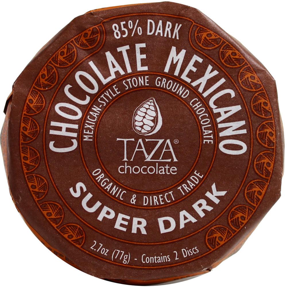 Edelbitterschokolade, Bio Schokolade, Stone ground chocolate, Taza chocolate, organic chocolate, koschere Schokolade, lezithinfreie Schokolade, laktosefreie Schokolade, glutenfreie Schokolade - Tablette de chocolat, Chocolat kascher, chocolat parève, chocolat parve , chocolat sans gluten, chocolat sans lactose, chocolat sans soja, chocolat végétalien, États-Unis d'Amérique, Chocolat américain, chocolat us, Chocolat avec sucre - Chocolats-De-Luxe