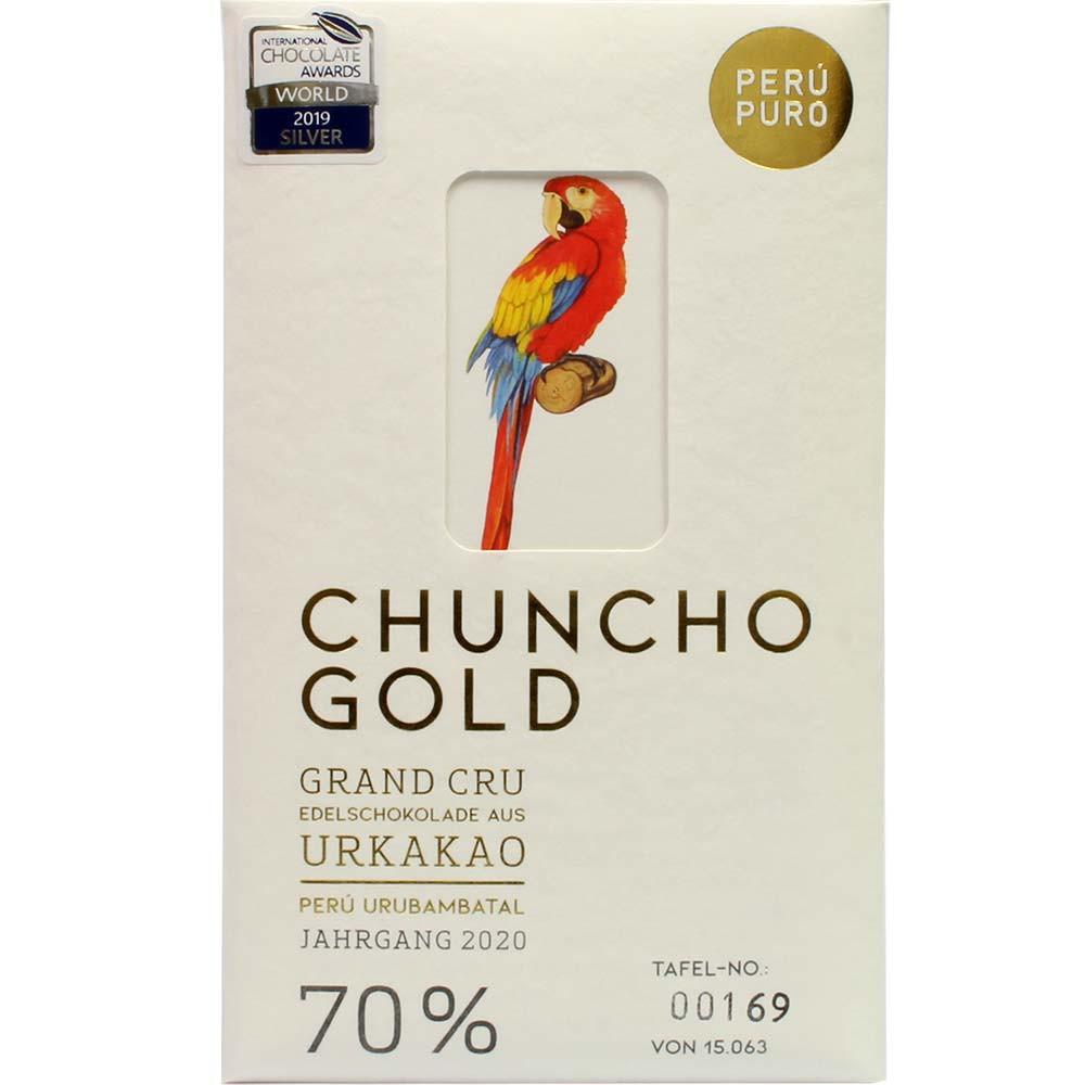 Chuncho Gold Grand Cru 70% dunkle BIO Schokolade