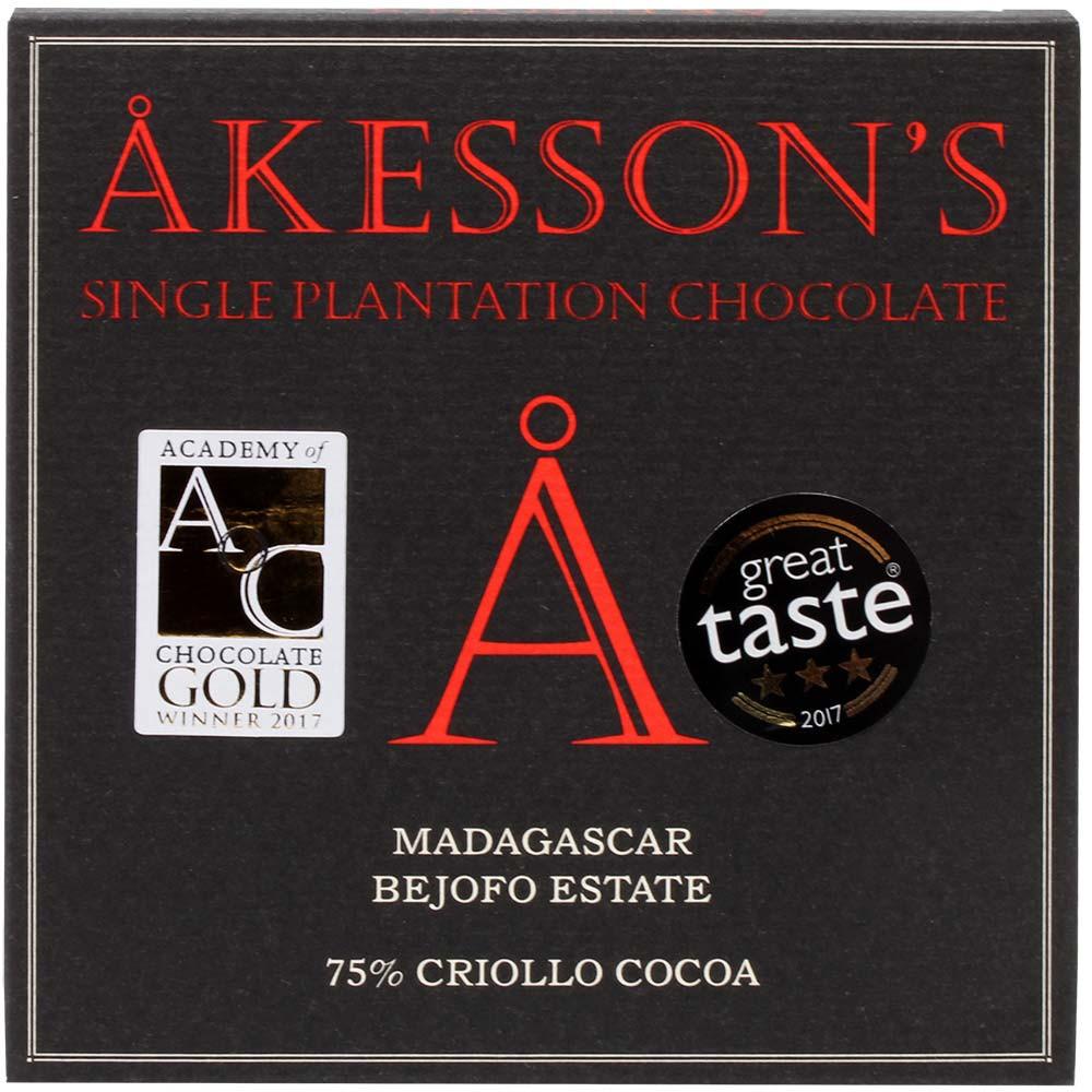 75% Criollo Cocoa Madagascar Schokolade BIO Bejofo Estate