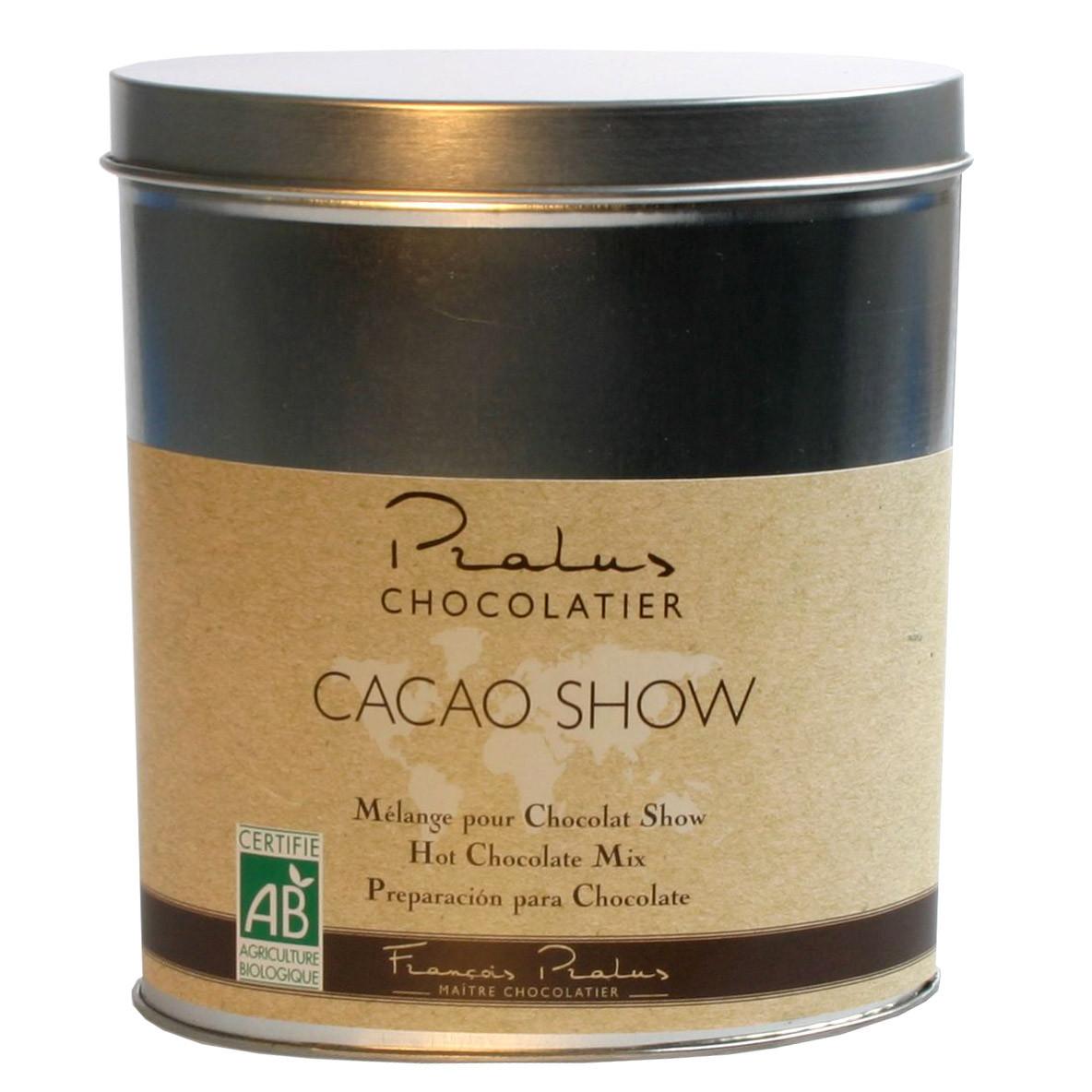 Pralus, Frankreich, Trinkschokolade, Bio chocolat noir, dark drinking chocolate