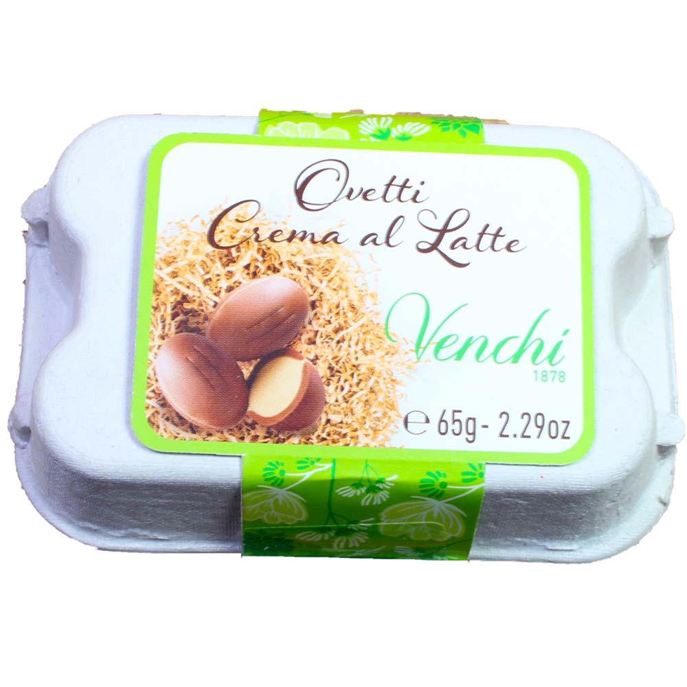 Oeufs à la crème de lait Mini Osterei Schachtel - Fingerfood doux, Chocolat sans alcool, chocolat sans gluten, Italie, chocolat italien, Chocolat au cacao /-nibs - Chocolats-De-Luxe