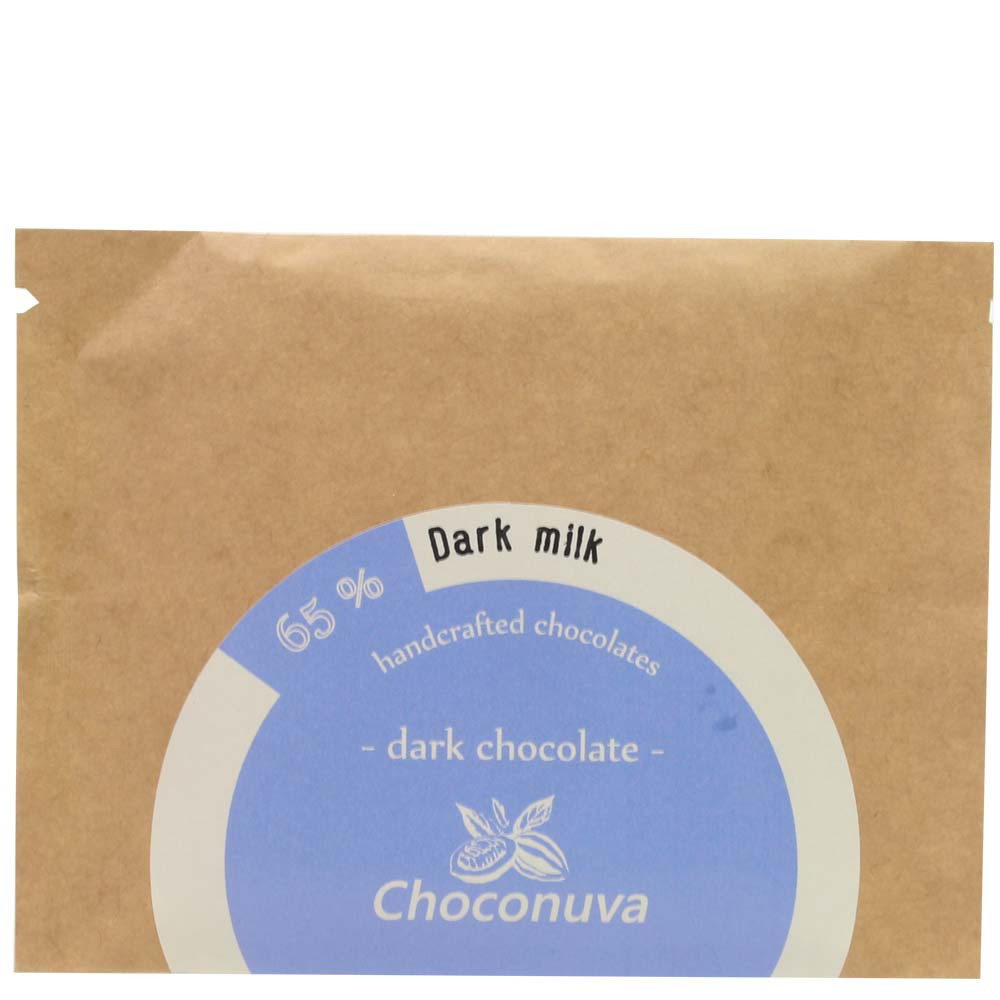 Choconuva 65% Dark Milk Chocolate - dunkle Milchschokolade | chocolats-de-luxe.de